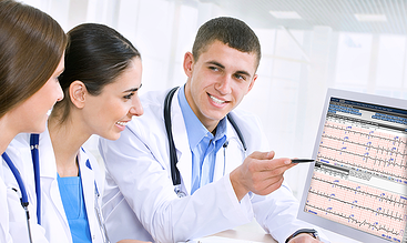 Physicians learning Cardio Server