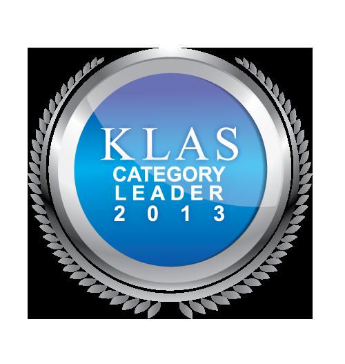 KLAS Category Leader 2013
