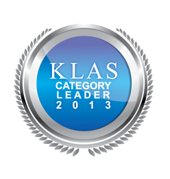 KLAS Category Leader 2013