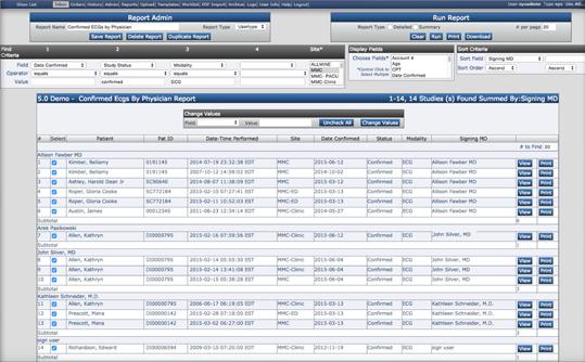 Customizable Report Tool
